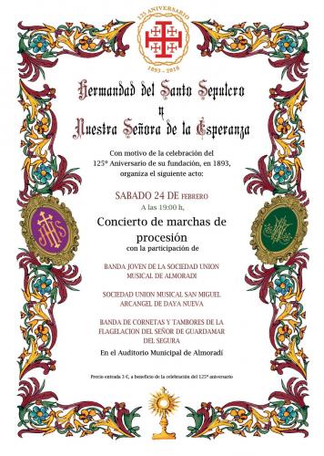 CONCIERTO MARCHAS DE PROCESIÓN