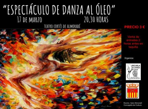 ESPECTÁCULO DE DANZA AL ÓLEO